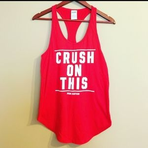 Crush on this Pink vs tank top